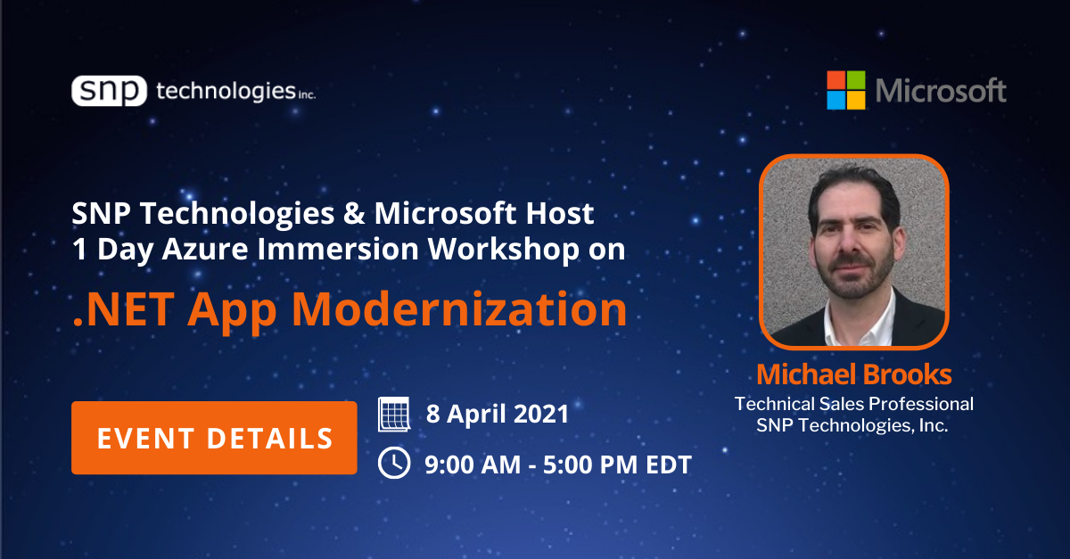 Azure Immersion Workshop on .NET App Modernization