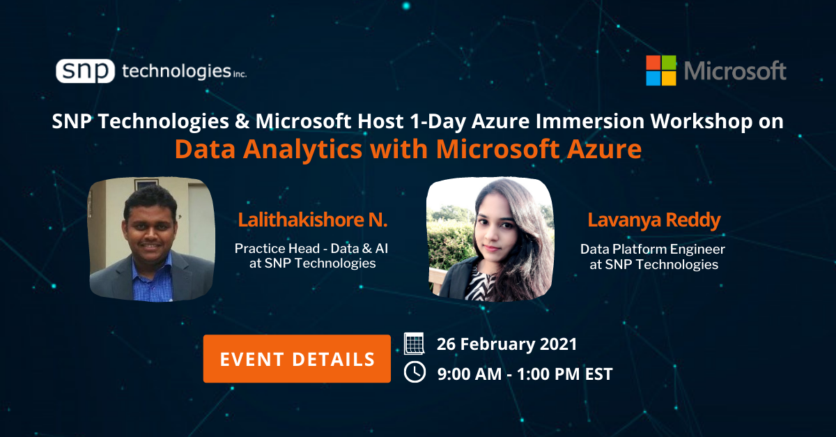 Azure Immersion Workshop on Data Analytics with Azure
